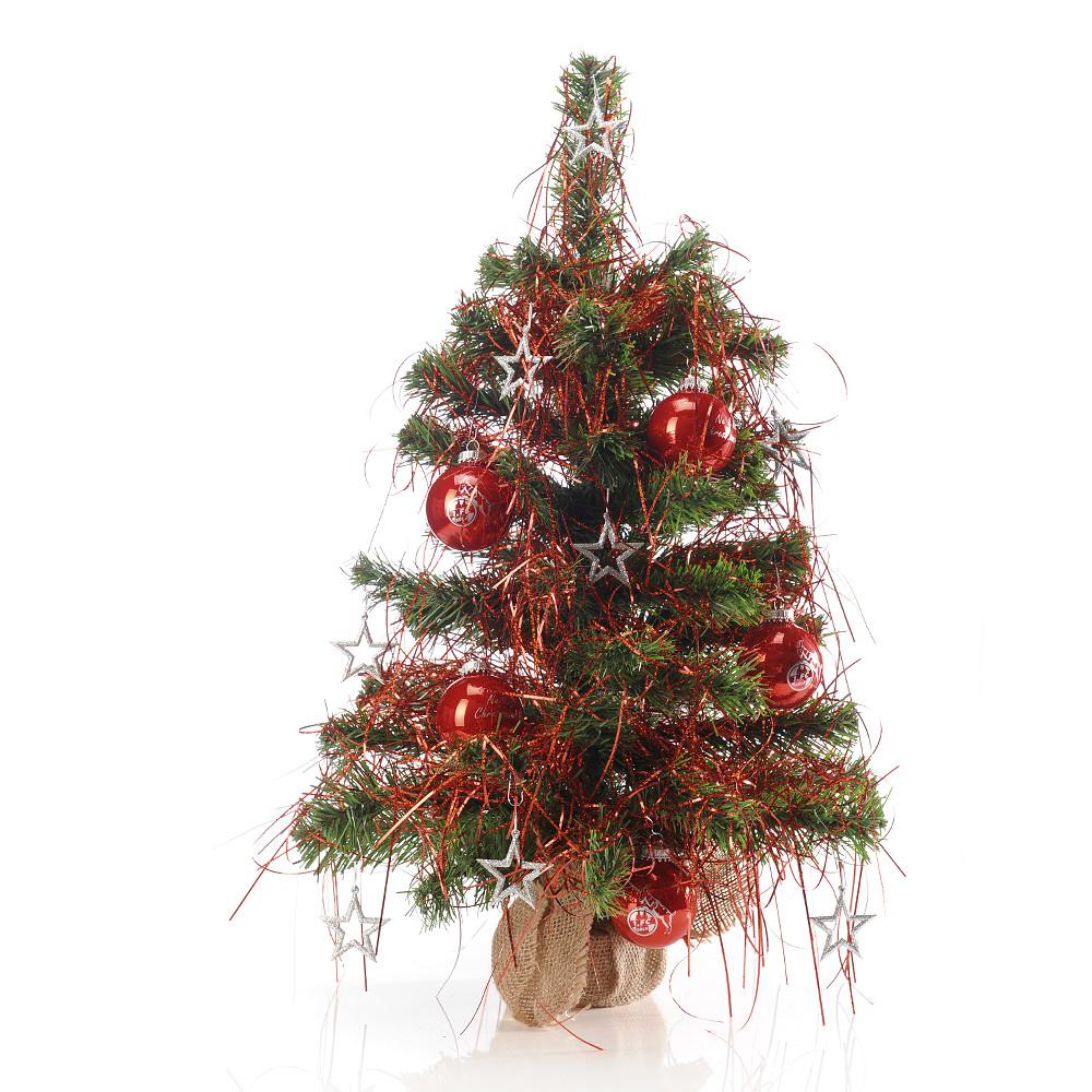 weihnachtsbaum geschm ckt zuhause unterwegs wohnen. Black Bedroom Furniture Sets. Home Design Ideas