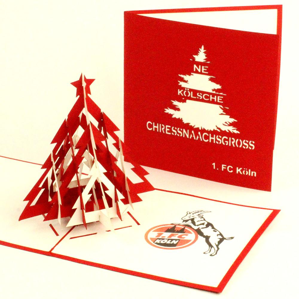 Foto Weihnachtskarten Bestellen.Weihnachtskarte Pop Up