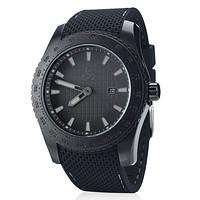 Armbanduhr schwarz (1)