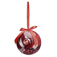 Weihnachtskugel Skyline rot (1)
