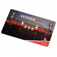 """Gutscheinkarte """"Stadion"""" (1)"""