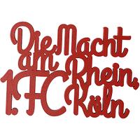 """Holzschriftzug """"Die Macht am Rhein"""" (1)"""