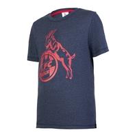"Kids T-Shirt ""Basic navy rot"" (1)"
