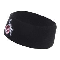 """Stirnband """"schwarz Fleece"""" (1)"""