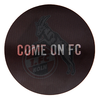 "Lenticular Aufkleber ""Come on FC"" (1)"