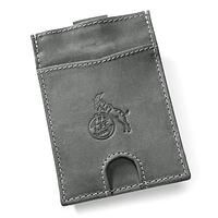 Slim Leder-Geldbörse mit Münzfach (1)