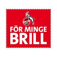 """Brillenputztuch rot """"För minge Brill"""" (1)"""