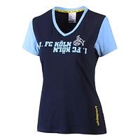 Freizeitshirt Damen blau (1)