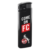 "Feuerzeug ""Come on FC"", schwarz (1)"