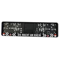 """Nummernschildhalter """"Die Macht am Rhein"""" (1)"""