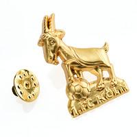 Anstecknadel Hennes gold (1)