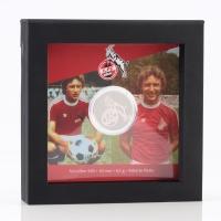 """FC-Legenden """"Heinz Flohe"""" silber (1)"""