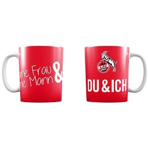 1 FC K/öln Tasse Schmuckst/ücke
