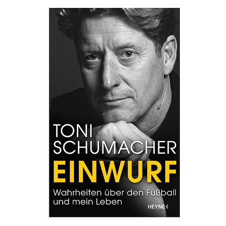 """Buch """"Einwurf"""" Toni Schumacher"""