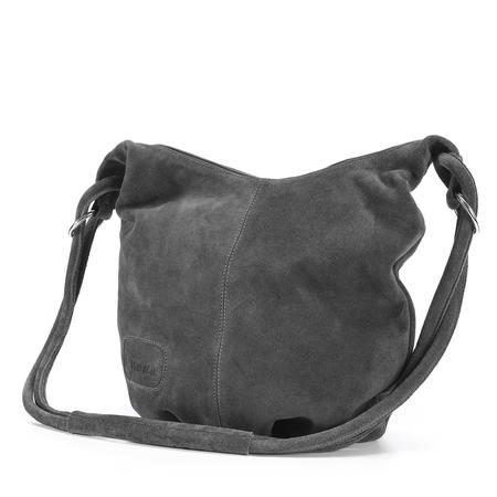 Wildleder- Shopper Handtasche