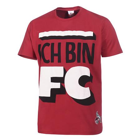 """T-Shirt Mitglieder rot """"Ich Bin"""""""