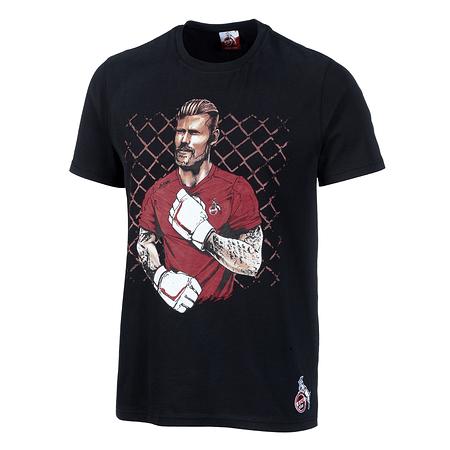 """T-Shirt """"Horn"""" schwarz"""