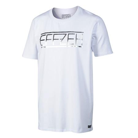 """T-Shirt """"Label Foil White"""""""