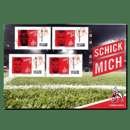 """FC-Briefmarke """"Spieler"""""""