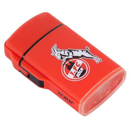Feuerzeug Rubber rot