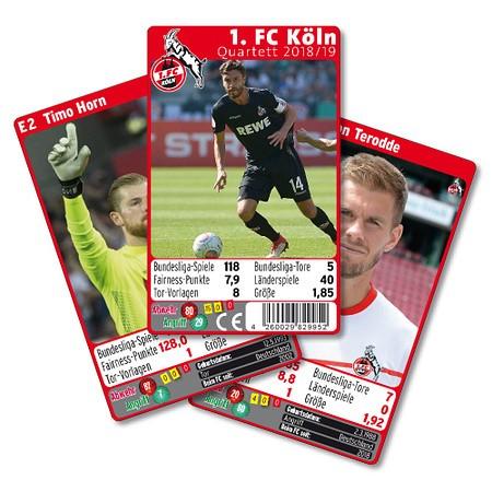 1. FC Köln Quartett 18/19