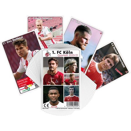 1. FC Köln Quartett 20/21