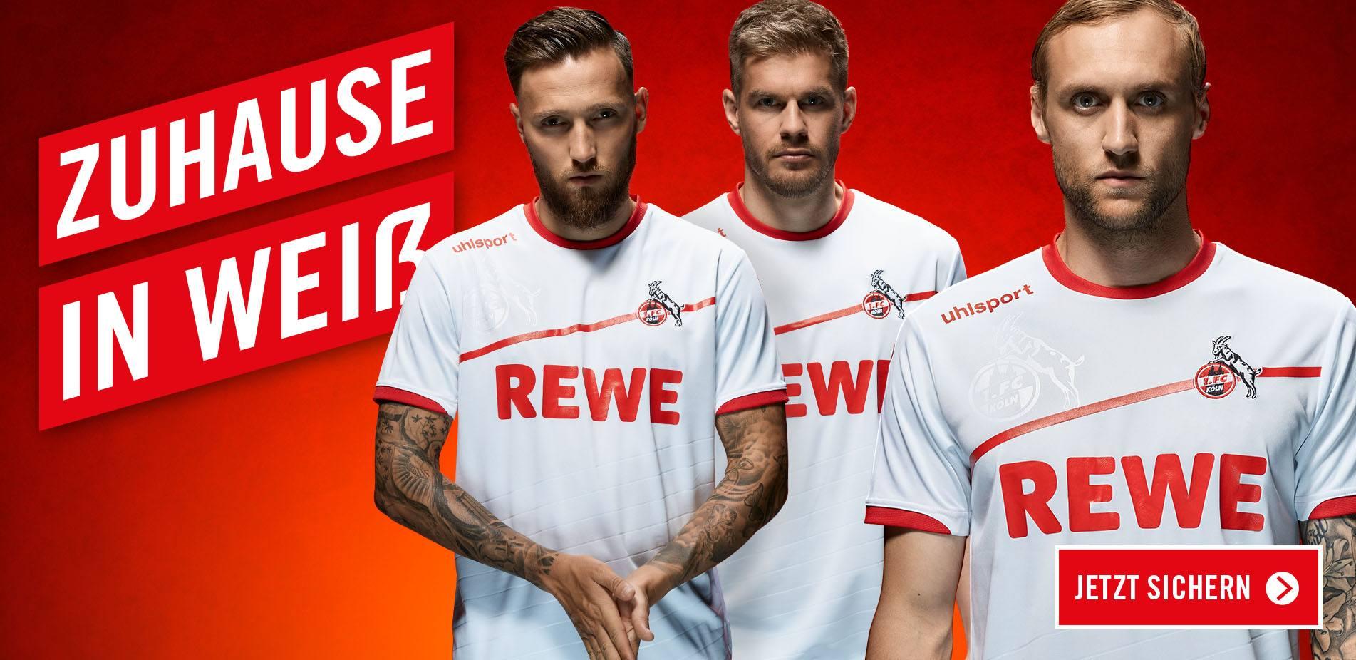 Das neue Heimtrikot des 1. FC Köln 2018/2019