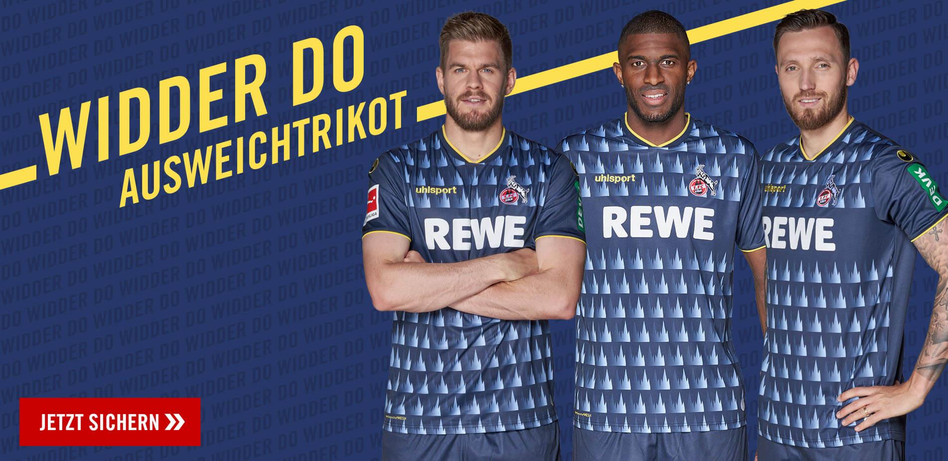 Offizieller 1. FC Köln Fanshop Trikots, Fanartikel und