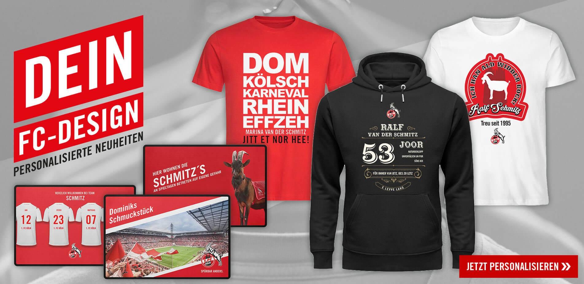 """S-5XL 1 SHIRT """"Leuchterstr."""" Gr FC KÖLN T"""