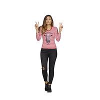 Damen T-Shirt Ringelhennes (10)