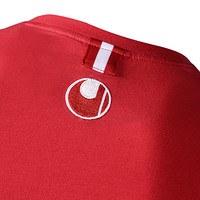 Freizeitshirt rot/anthra (6)