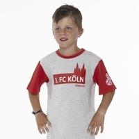 Freizeitshirt Rot Grau Junior (2)