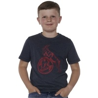 "Kids T-Shirt ""Basic navy rot"" (5)"