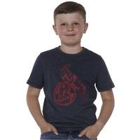 "Kids T-Shirt ""Basic navy rot"" (5)"