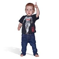 """Baby T-Shirt """"Auf der Kicken"""" (2)"""