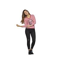 Damen T-Shirt Ringelhennes (2)