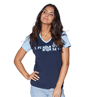 Freizeitshirt Damen blau (2)