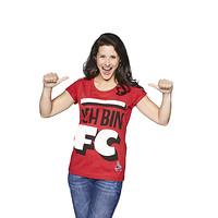 """Damen T-Shirt Mitglieder rot """"Ich Bin"""" (2)"""
