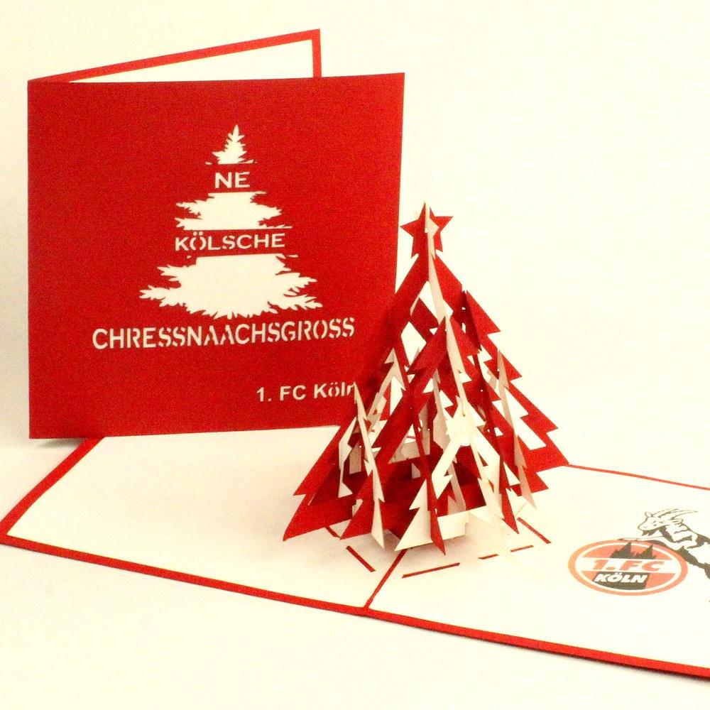 Weihnachtskarten Foto Bestellen.Weihnachtskarte Pop Up