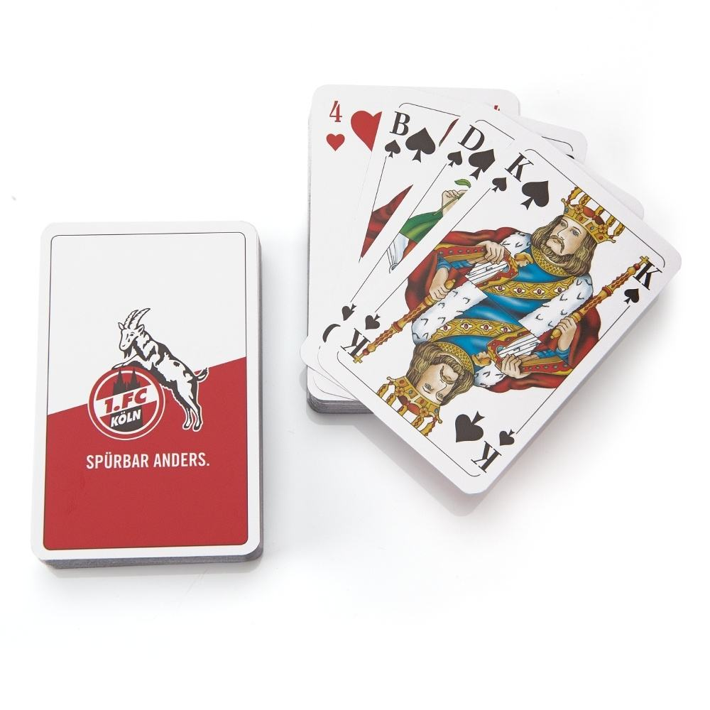 Fußball 1.FC Köln Romme Kartenspiel