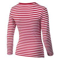 Damen T-Shirt Ringelhennes (3)