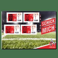 """FC-Briefmarke """"Spieler"""" (2)"""