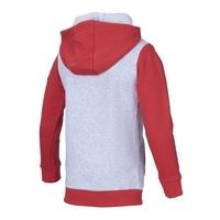 Freizeithoodie Rot Grau Junior (3)