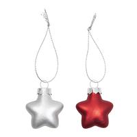 Weihnachtsanhänger Sterne 10er Set (2)