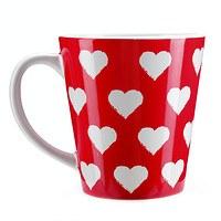 Tasse Herzen rot (2)
