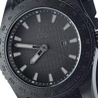 Armbanduhr schwarz (2)