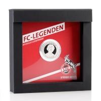 """FC-Legenden """"Heinz Flohe"""" silber (2)"""