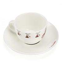 Kaffeetasse & Untersetzer 4-teilig (4)