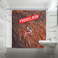 Duschvorhang Puddelrüh (180 x 200cm) (2)