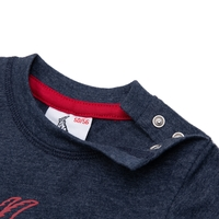 "Baby T-Shirt ""Basic navy rot"" (5)"